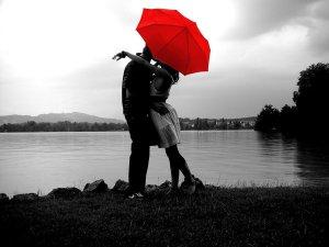 overs under an umbrella