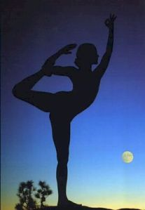 Yoga Balance Dancer pose