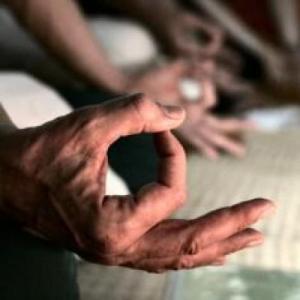 yoga hand mudra