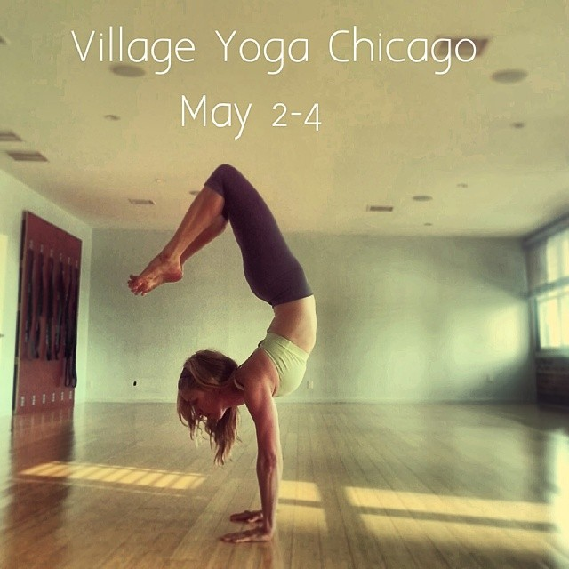 Village Yoga Chicago May 2-4